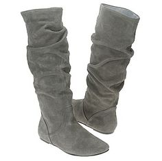 Grey Steve Madden boots. They go with everything!