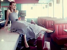 More Photos of Emma Stones Vogue Feature