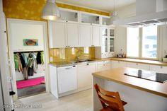 Myytävät asunnot, Sammalhuoneenkatu 29 Silikallio Rauma #keittiö #oikotieasunnot