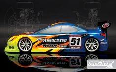 Team Associated TC6 touring car