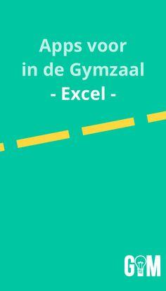 Handige apps voor in de Gymzaal: Excel.