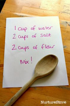 salt dough recipe. Find out what will happen you dare devils!!!!