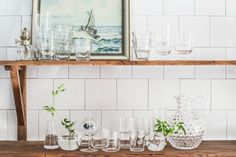 Glas i vardagen - Lovely Life Country Girls, Double Vanity, Kitchen Dining, Interior Design, Inspiration, House, Life, Furniture, Home Decor