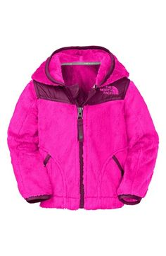 Free shipping and returns on The North Face 'Oso' Fleece Hoodie (Baby Girls) at Nordstrom.com. Soft taffeta panels cover the shoulders of a fuzzy fleece hoodie that's sure to keep her cozy.