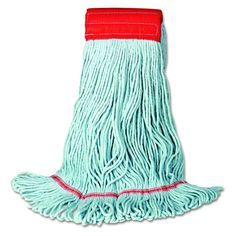 UNISAN 1400L Eco Mop with Looped-End Wet Head Synthetic/Cotton Large Blue #Unisan