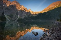 Morskie Oko... My name is Marcin Kesek and I am a 27-year-old photographer from a little village in southern Poland called Gronkow. I live in a very beautiful place near the Tatra Mountains, Pieniny and Gorce.