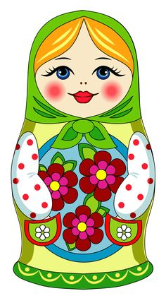 """Photo from album """"Матрёшки"""" on Yandex. Matryoshka Doll, Kokeshi Dolls, Doll Party, Wooden Dolls, Doll Crafts, Paper Crafts, Doll Patterns, Baby Quilts, Paper Dolls"""