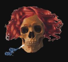skull, cigarette, death, smoking kills by Rostislav Bouda