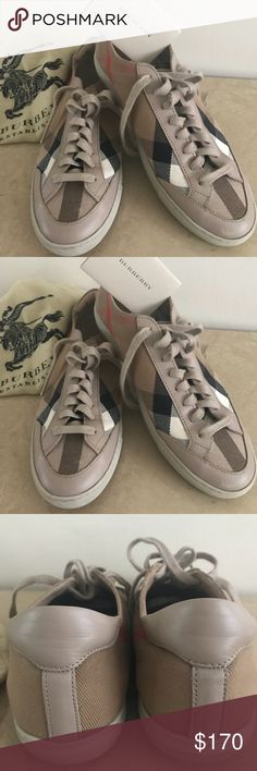 Burberry Sneakers Size 7 Women's Shoes Burberry Sneakers Size 7 Excellent Condition fits very well size 7.5 please any question ask me before buying ! Burberry Shoes Sneakers