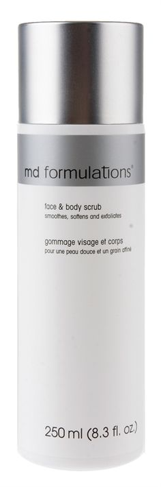 Md Formulations - Face And Body Scrub - All Skin Types 250ml  (MDF0043)