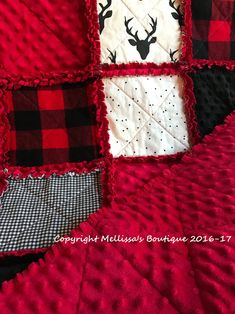 Baby Rag Quilts, Black Baby Cribs, Sewing Tutorials, Sewing Projects, Quilting Projects, Sewing Hacks, Quilting Designs, Sewing Ideas, Quilting Thread