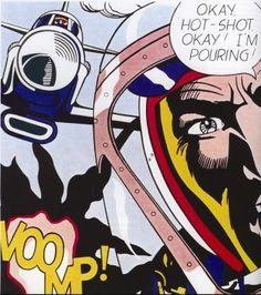 Roy Liechtenstein's Hot-Shot