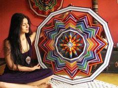 Mandalas Arte Têxtil, Arte Meditativa e Terapêutica