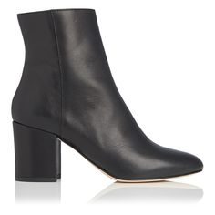 Jourdan Black Leather Ankle Boots | Ankle Boots | L.K. Bennett