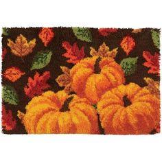 Craftways® Autumn's Splendor Latch Hook Kit
