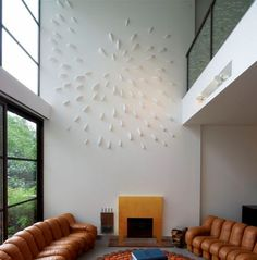 double volume wall space