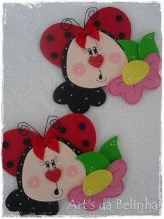 Bjinhos e Boa noite ... Até amanhã, com muitas novidade!!! Kids Crafts, Foam Crafts, Easter Crafts, Crafts To Make, Arts And Crafts, Flower Costume, Art Folder, Diy Ostern, Felt Patterns