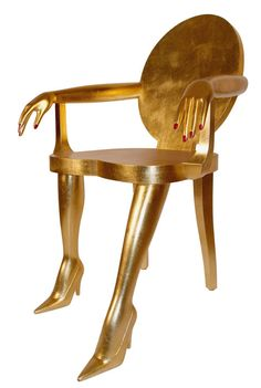 I must have this Titi Chair by MarjorieMarjorie!!  It just oozes glam!!!!! #GlamSlam!!!