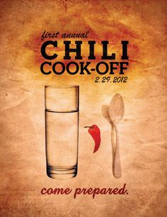 Chili Cookoff for Chi O. Yum Yum :)