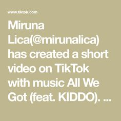 Miruna Lica(@mirunalica) has created a short video on TikTok with music All We Got (feat. KIDDO). Pancakes Monday #pancakes #tiktokrecipe #tiktokviral #foryou #fyp #sweet I Miss You Guys, I Missed, Music, Math, Pancakes, Sugar, Play, Makeup, Stone