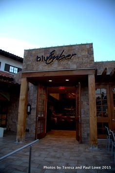 Enjoy a beautiful dinner this summer and year around at BluEmber an upscale restaurant at the Omni Ranchos Las Palmas Resort and Spa in Rancho Mirage, CA