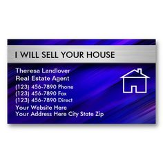 Real estate business cards i love this design it is available for real estate business cards with powerful modern design and great text layout reheart Images