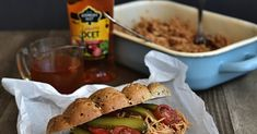 Trhané vepřové (pulled pork) z pomalého hrnce Pulled Pork, Mexican, Ethnic Recipes, Food, Shredded Pork, Essen, Meals, Yemek, Mexicans