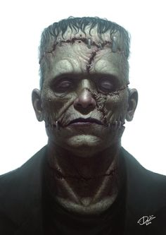 Frankenstein's Monster by Disse86 on DeviantArt