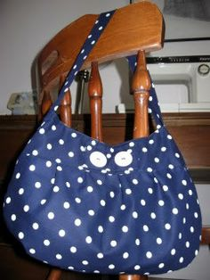 Polka Dot Buttercup Bag from Condo Blues