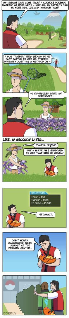The Problem With a Pokemon MMO