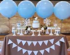 Giant White Balloon Giant 36 Balloon Baby Boy by #babyshower #balloons #genderreveal