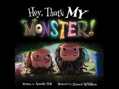 """Read """"Hey, That's MY Monster!"""" by Amanda Noll available from Rakuten Kobo. This enhanced eBook features read-along narration. Winner: CLC Seal of Approval 2017 Literary Classics Book Awards, Silv. Best Toddler Books, Best Children Books, Childrens Books, Monster Book Of Monsters, Little Monsters, Monster Mash, Bed Story, Story Time, Monster Activities"""