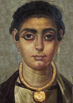 Fayum mummy portrait mod