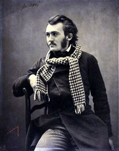 Gustave Dore, 1854 - photo by Felix Nadar