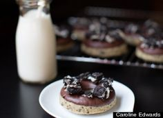 I love donuts and I love Oreos....hmmmm...will they be good together?!