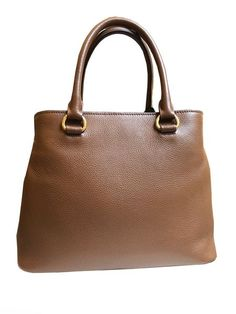 1a16c72d7a8e1a Prada Women's Brown Vitello Phenix Leather Handbag 1BA058. Louis Vuitton  Speedy BagLeather ...
