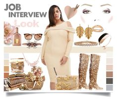 """""""Job Interview Look"""" by jeneric2015 ❤ liked on Polyvore featuring Charlotte Olympia, Marika, Inbar, Alexander McQueen, jobinterview and 60secondstyle"""