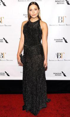 Elizabeth Olsen in Vionnet attends the America Ballet Theatre 2016 Fall Gala in N.Y.C. #bestdressed