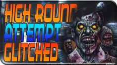 """Black Ops 3 Zombies """"GLITCHED DOG"""" Round, First room challenge FAIL! LIV..."""