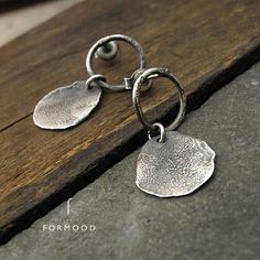 Small earrings, raw sterling silver and peridot stud earrings, oxidized silver, delicate stud earrings, Oxidized Silver, Sterling Silver Earrings Studs, Handmade Sterling Silver, Silver Bracelets, 925 Silver, Silver Rings, Etsy Earrings, Dangle Earrings, Silver Ring Designs