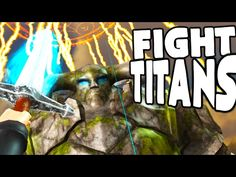 awesome DEFEATING EPIC TITANS IN VIRTUAL REALITY - (Children Of Colossus VR Gameplay)