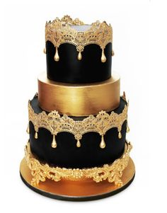 Edible Cake lace Regal Design - Royal elegance for your cakes / cupcakes | eBay
