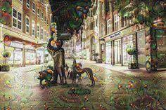 City #bremen #sögestrasse #deep #dream #deepdream #deepdreamgenerator #googledeepdream #deepdreammachine #surreal #unreal #abstract #surrealism #lights #night #dark #shop #shops #longexposure #houses #street #city #town #urban #downtown by thesurrealpug