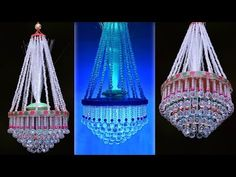 Diwali Decorations At Home, Jhumar, Pearl Chandelier, Creative Decor, Bead Patterns, Diy And Crafts, Decorating Ideas, Apps, Ceiling Lights