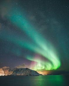 Northern Lights Over Lofoten, Norway by Dylan Furst - Photo 140013685 - 500px
