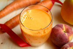 Centrifugato abbronzante, un succo ricco di vitamina. Centrifugato con carote…