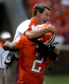 Sammy Watkins is an outstanding freshman WR on the Clemson football team.Watkins and Swinney will lead Clemson to many victories in the next 3 years Clemson Athletics, Clemson Football, Clemson Tigers, Football Season, College Football, Auburn Tigers, Fight Tiger, Tiger Love, Tiger Girl