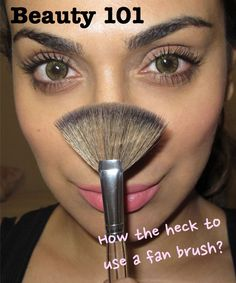 bc1b9f553f0 Beauty 101 | What the Heck is a Fan Brush? | Huda Beauty – Makeup