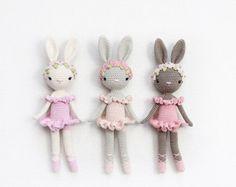 Ballerina Bunny Charlotte  Kikalite  amigurumi crochet door kikalite