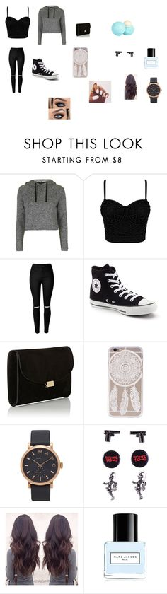"""""""Fresh"""" by ivieoww on Polyvore featuring Topshop, Converse, Mansur Gavriel, Marc Jacobs and River Island"""